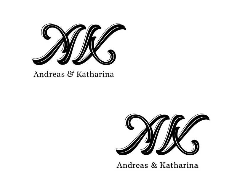 Logovarianten-Monogramm