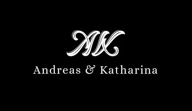 Hochzeit: Logo Entwicklung Monogramm