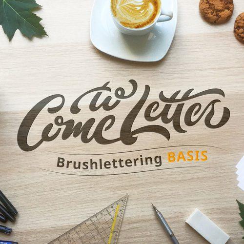 Brushlettering-Basis