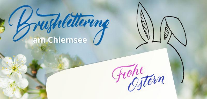Handlettering Chiemsee