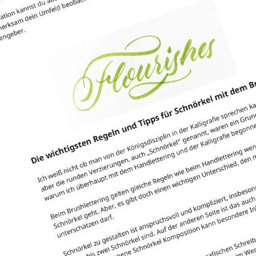 Brushlettering-Guide-Schnörkel