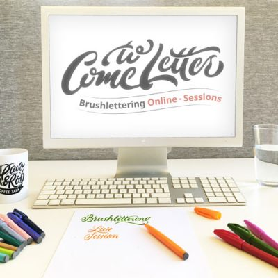 Online-workshop-Brushlettering