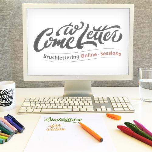 Online-workshop-Brushlettering