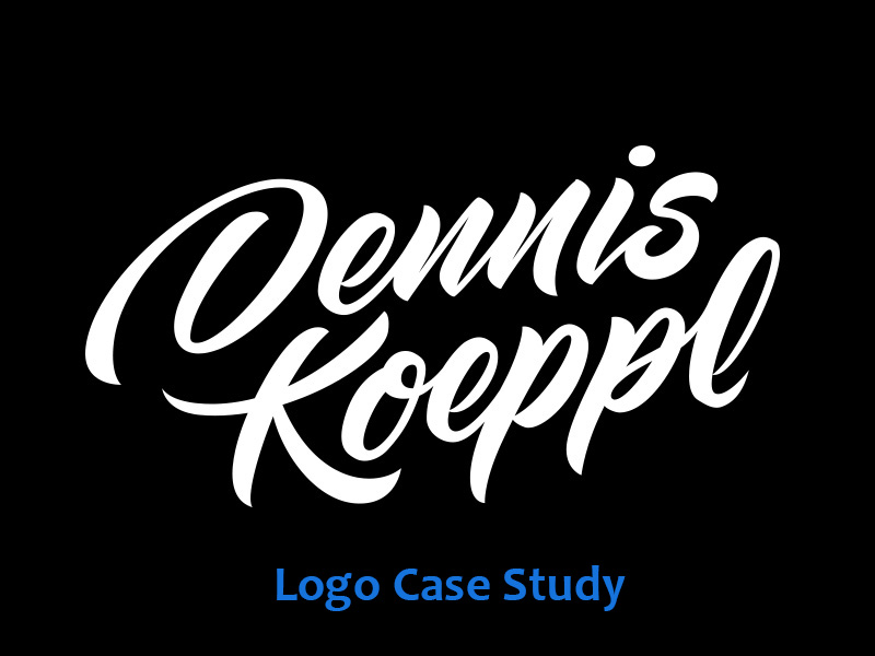 Logo Schriftzug Case Study