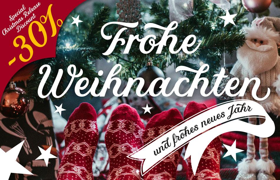 Weihnachten-Script-Font