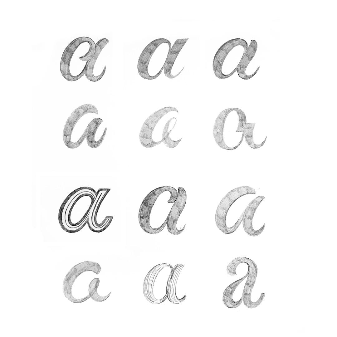 Buchstaben-a