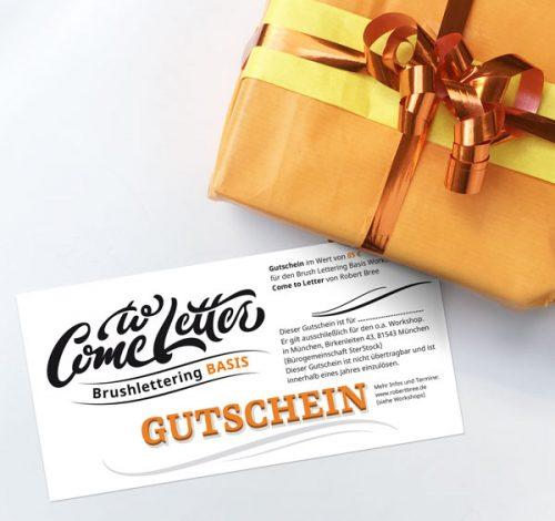 Gutschein Workshop Basis