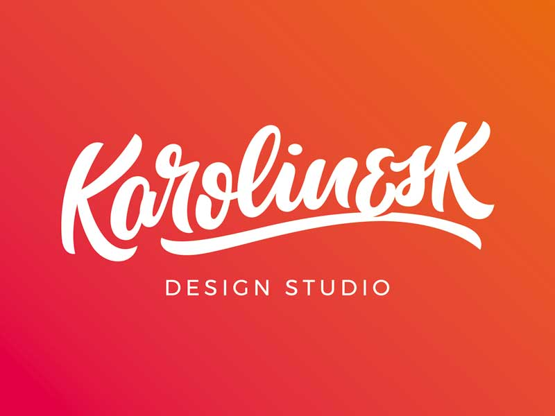 Case Study Logo für Designerin