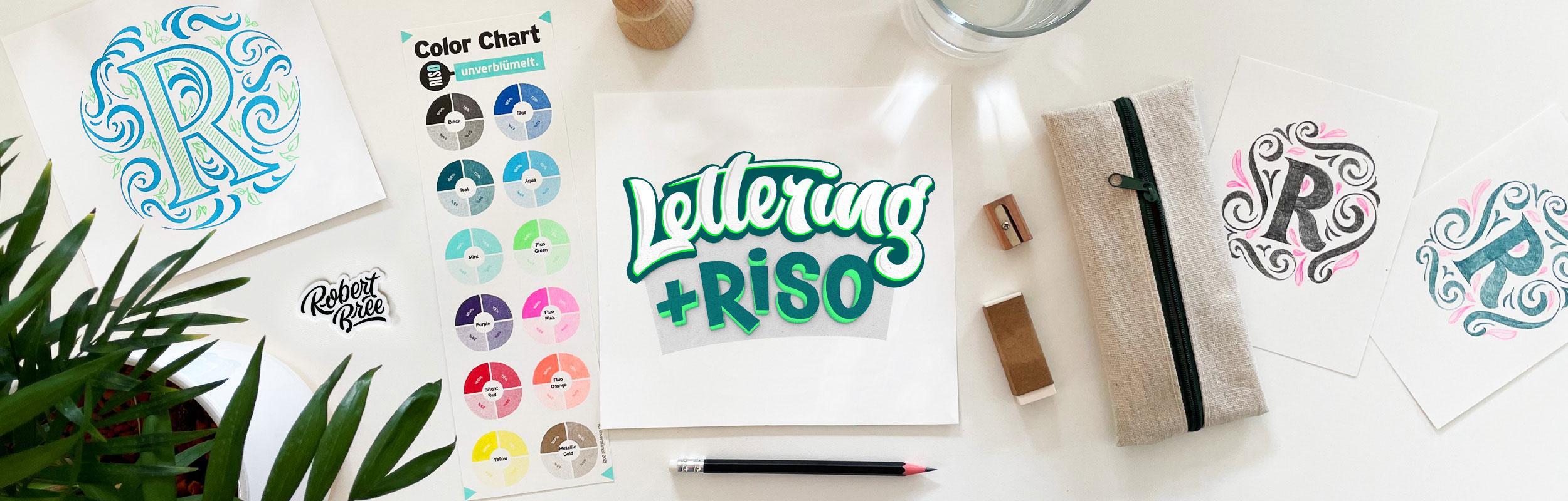 Lettering & Riso Workshop