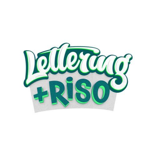 Lettering & Riso Logo