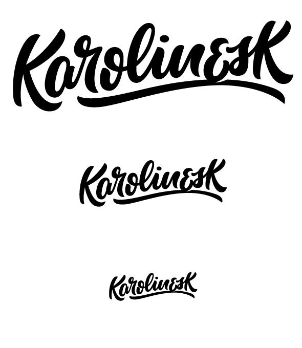 Logo-Schriftzug-Größen