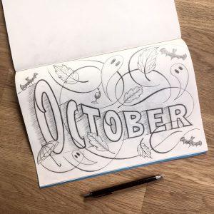 Herbst Lettering