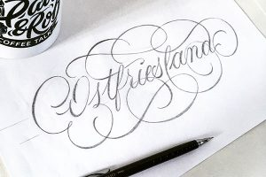 Flourish Lettering