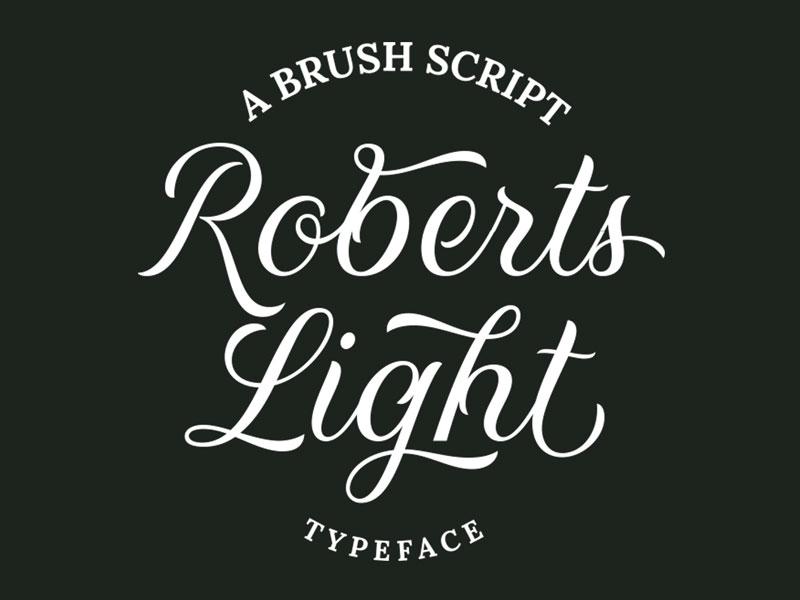Roberts-Script-Regular