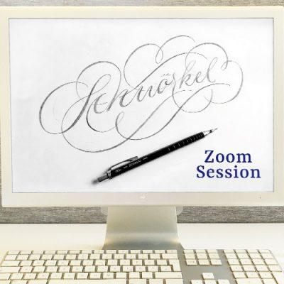 Schnoerkel lernen mit Zoom