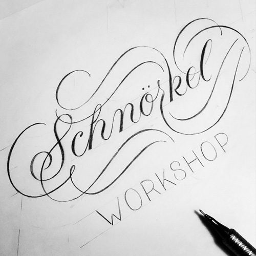 Schnörkel-Workshop-Produkt