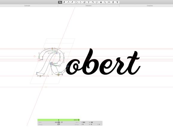 Roberts Script Font