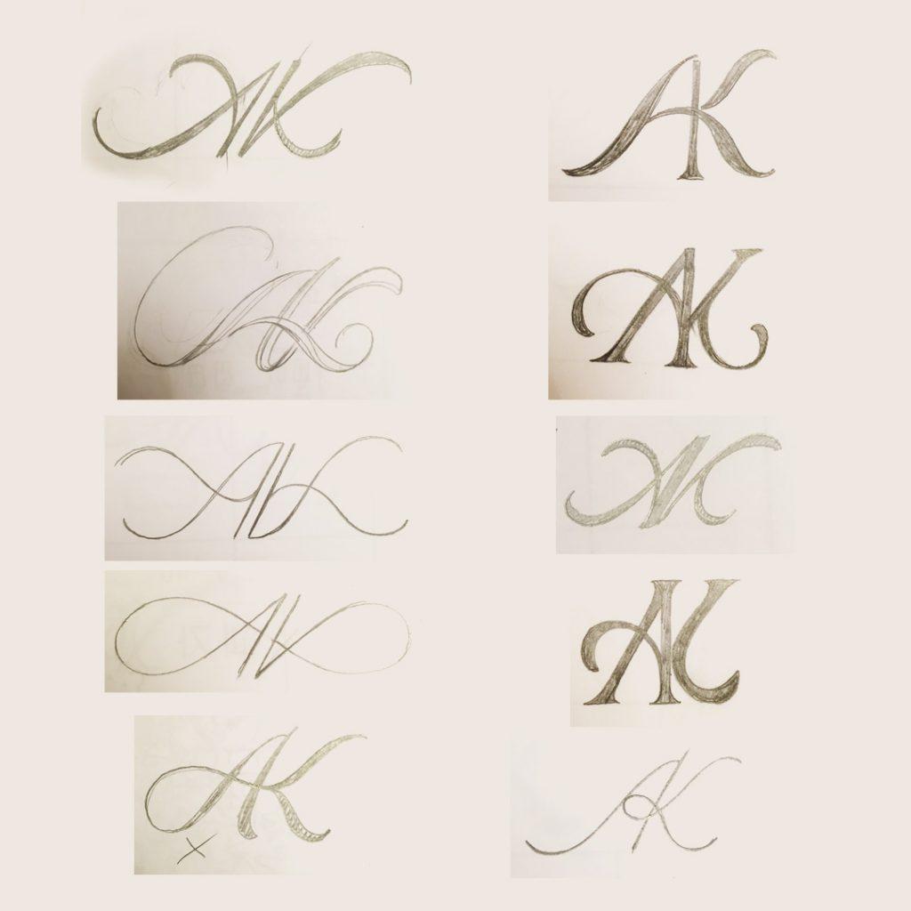 Skizzenphase1-Monogramm