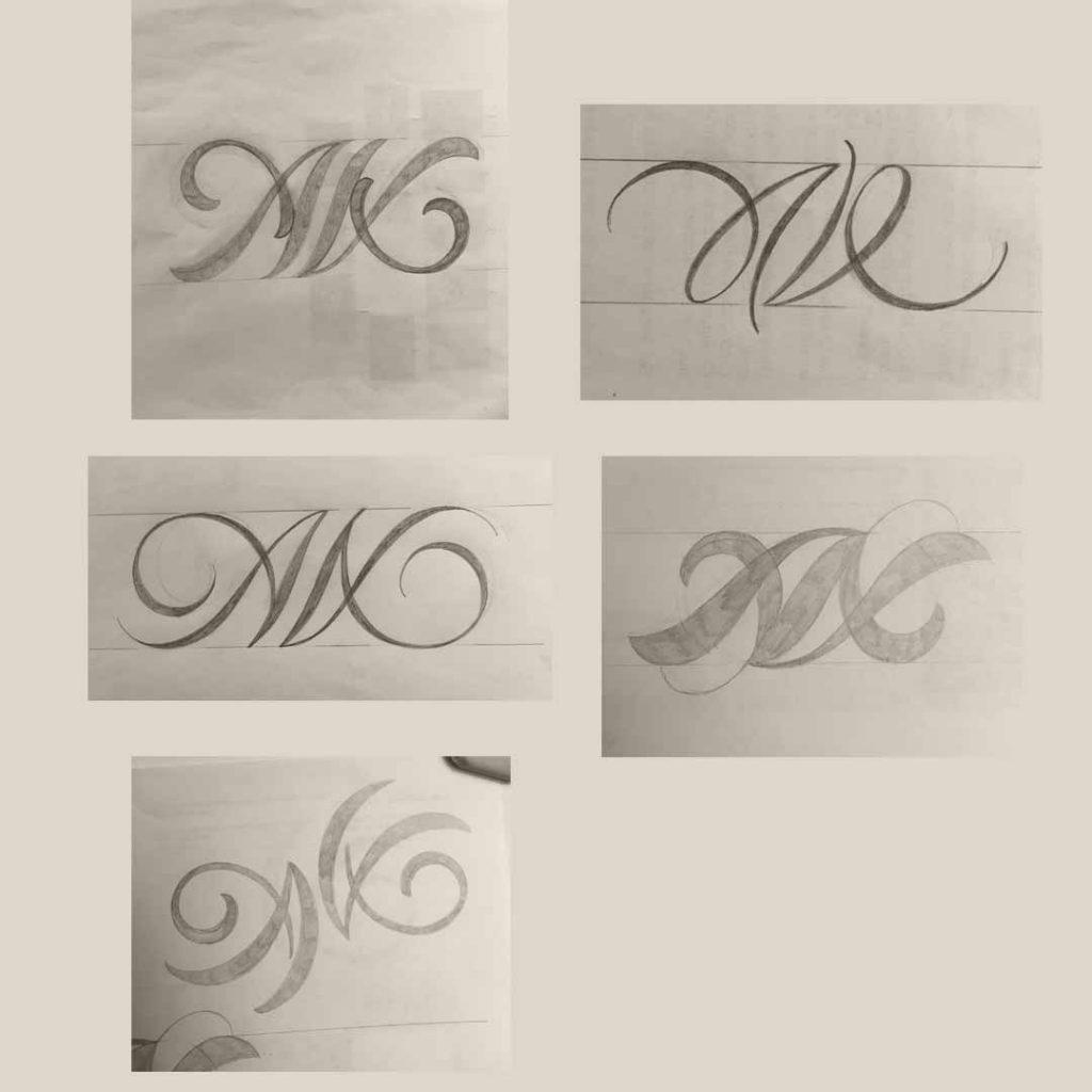 Skizzenphase2-Monogramm