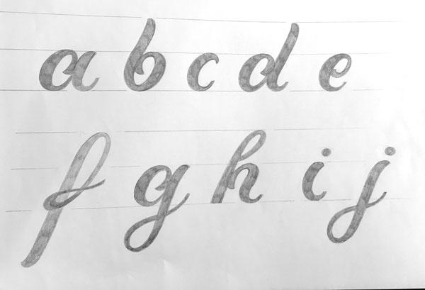Kleinbuchstaben