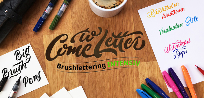 Brushlettering Intensiv