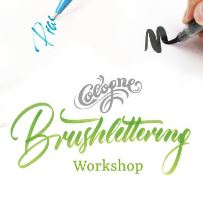 Brushlettering in Koeln
