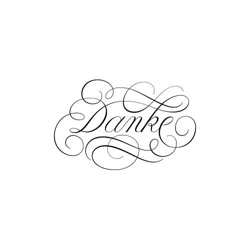 danke-lettering-visual