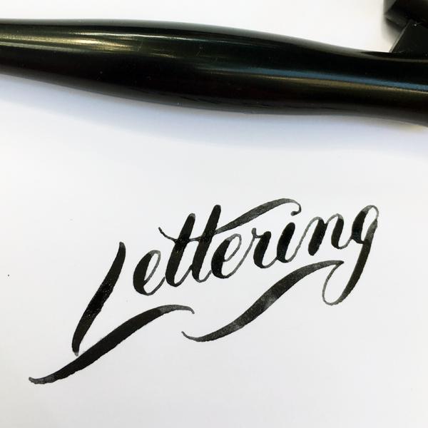 Feder Kalligraphie