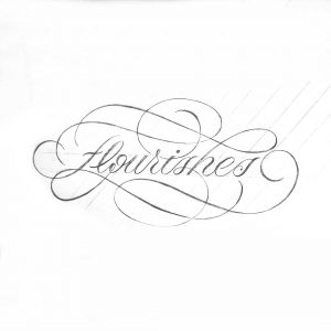 flourishes-Skizze