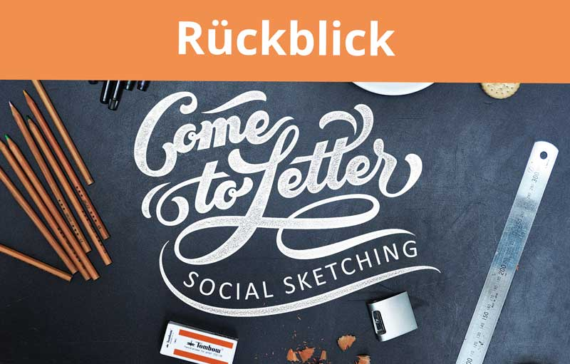 Brush Lettering Workshop – Rückblick