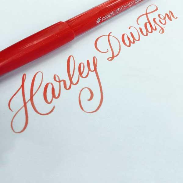 Brushlettering-Harley-Davidson