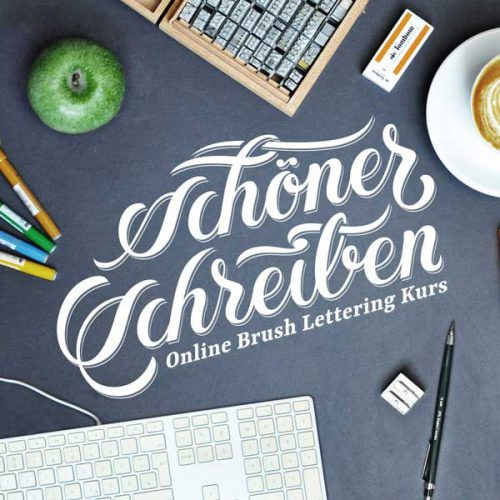 Onlinekurs Brush Lettering